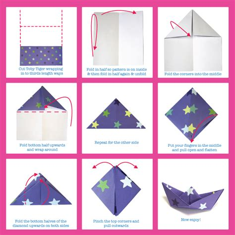 things to do with origami paper things to make origami boats