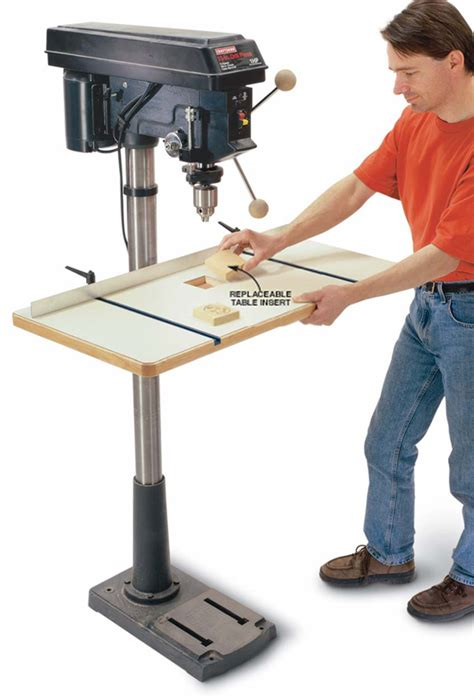 woodworking drill press table spacious drill press table popular woodworking magazine
