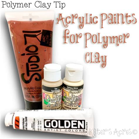 acrylic paint polymer clay katersacres acrylic paints for polymer clay katersacres