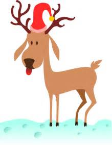 animated reindeers a reindeer clip at clker vector clip