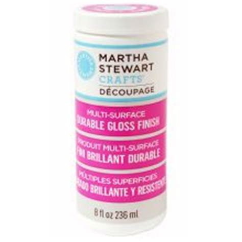 decoupage varnish or lacquer mod podge clear acrylic sealer matte to be crafts and