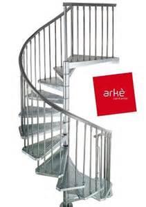 escalier arke exterieur design colimacon helicoidal modulable kit en acier ebay