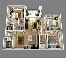 sims 3 4 bedroom house design 3 bedrooms apartments http www designbvild 4350 3