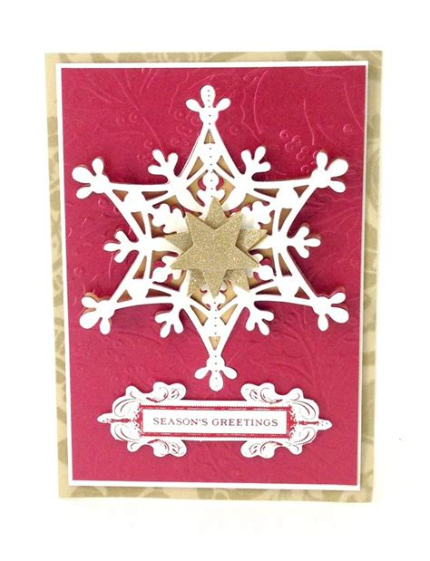 cutting dies for card 17 best images about griffen snowflake dies on