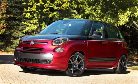 Fiat 500l Abarth by Mopar Spruces Up Fiat 500 Abarth And 500l For Sema Carscoops