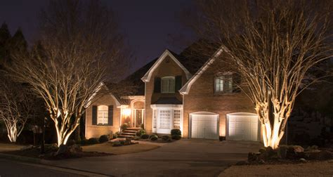 zspmed of home exterior up lighting