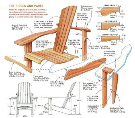 How To Building Free Woodworking Plans Adirondack