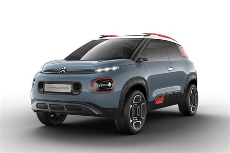 Citroen Suv by New Citroen C3 Aircross Suv Previewed By Concept Carbuyer