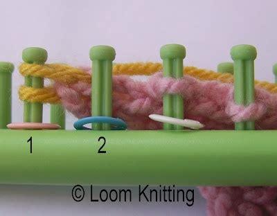 bind loom knitting 25 best ideas about loom knitting on