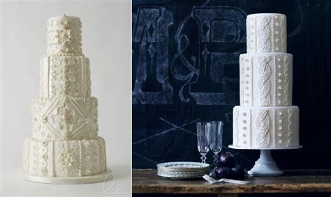 knitted wedding cake knit effect cakes tutorial cake magazine