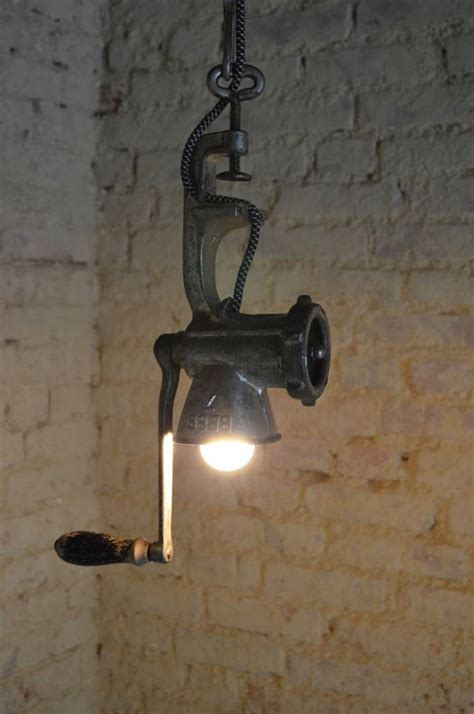 rustic kitchen light fixtures how to transform simple kitchen utensils into light