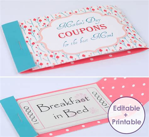 make cards coupon code make a stunning mothers day coupon booklet for your