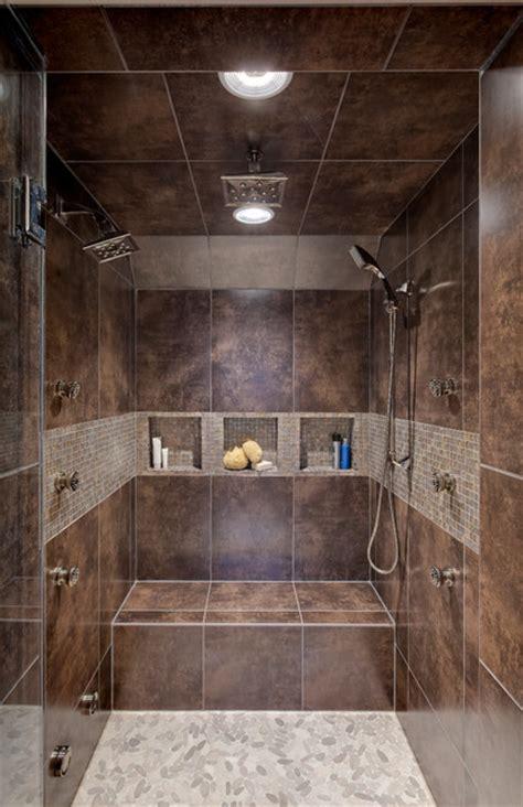 Houzz Basement Ideas by Transitional Master Bath Contemporary Bathroom