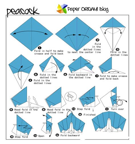origami animals diagrams animals origami peacock origami paper origami guide