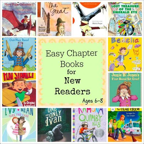 easy picture books easy chapter books for emerging readers around ages 6 8