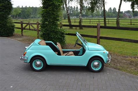 Fiat 500 Jolly classic park cars fiat 500 jolly replica