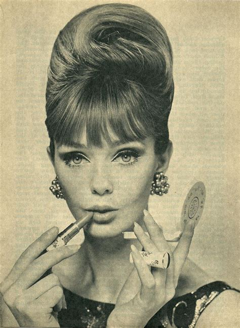 skunk haircuts of 50s and 60s 210 best 50 s 60 s hairstyles make up images on