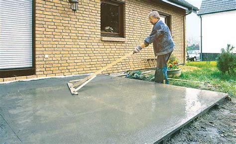 betonfußboden selber machen fundament bauen selbst de
