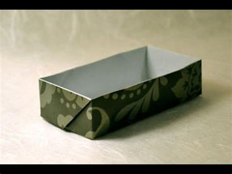rectangular box origami origami rectangular box www origami