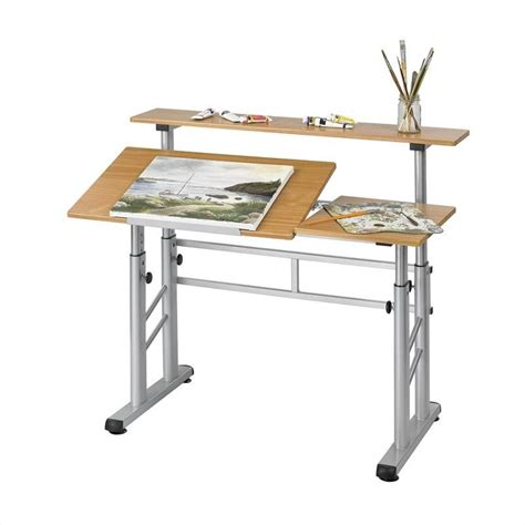 split drafting table height adjustable split level drafting table 3965mo