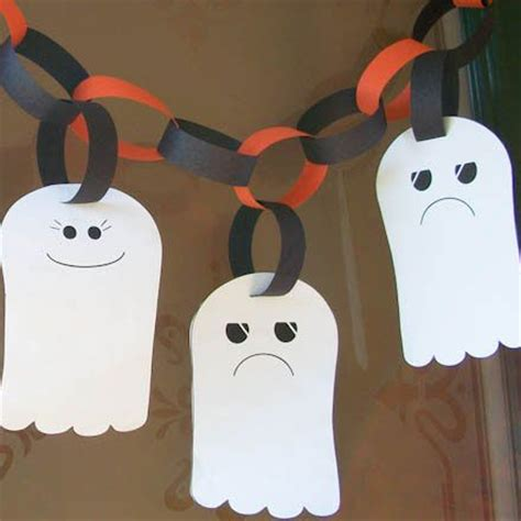 fast crafts for fast and crafts ghost garland
