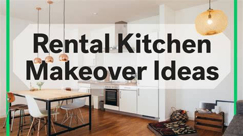 8 rental kitchen makeovers 100 at home