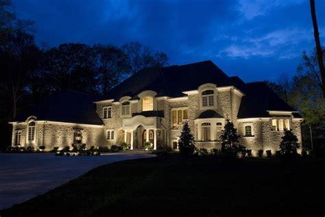 homes with lights outdoor lighting landscape lights nitetime decor by