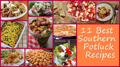dishes ideas 11 best southern potluck recipes favehealthyrecipes