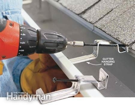 how to put gutters on a house how to install gutters reno decking