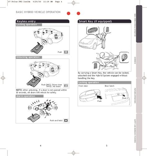 car repair manuals online pdf 2006 toyota prius engine control 2007 prius manual pdf