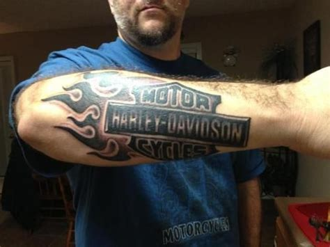 Harley Davidson Tattoos Tribal by 27 Harley Tattoos On Sleeve
