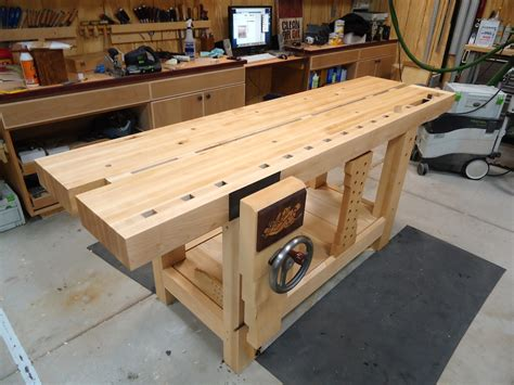 Split Top Roubo Workbench The Wood Whisperer Guild