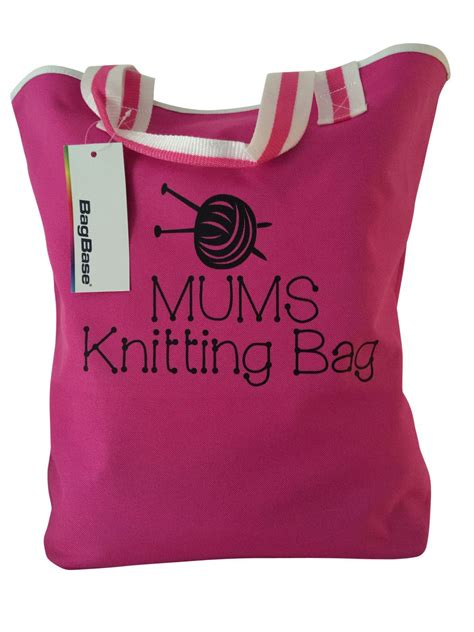 personalised knitting gifts personalised knitting bag