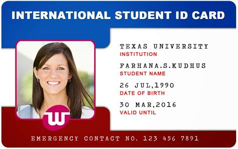 how to make school id card beautiful student id card templates desin and sle word