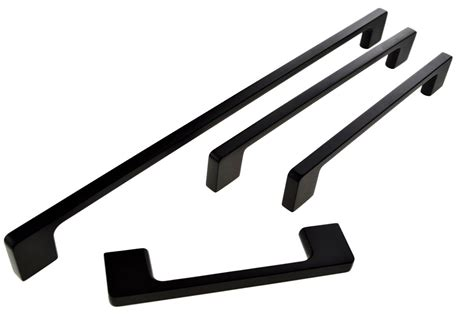 Kitchen Cabinet Door Handle c70 narangba black cabinet handles handle house