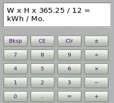 kilowatt usage calculator formula for kwh calculator go green in your home