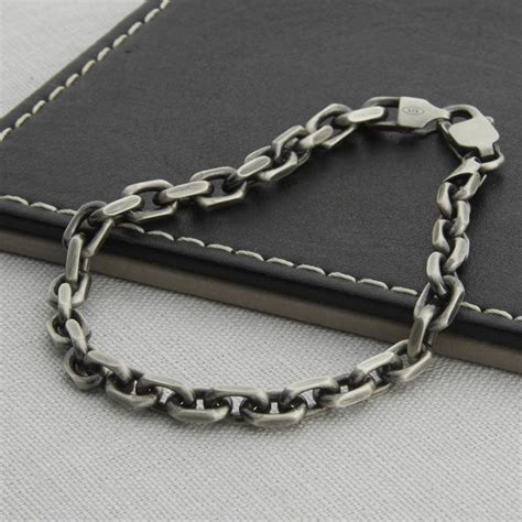 bracelet chains for jewelry s sterling silver anchor chain bracelet hurleyburley