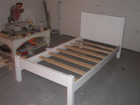 how to build bed frame building a bed frame furniture u build