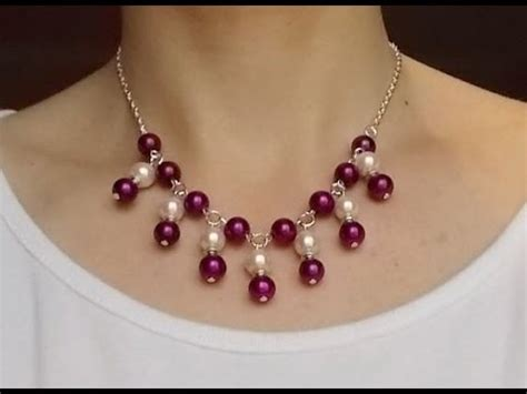 how to make beautiful jewelry diy jewelry how to make an easy beautiful chain