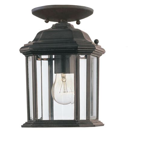 home depot pendant light fixtures sea gull lighting kent 1 light outdoor black pendant