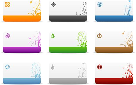card templates free cards templates vector vector graphics