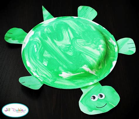 paper plate turtle craft paper plate turtle motor