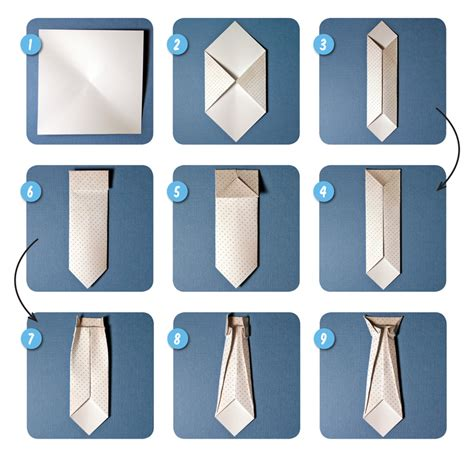 how to make an origami tie scrappin patch scrapbook supplies nz step by step
