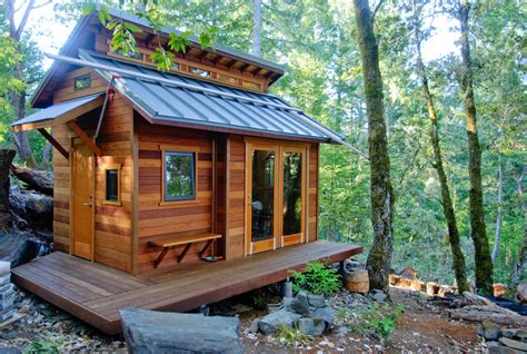 Small Cabin Blueprints 15 ingeniously designed tiny cabins for vacation or gateway