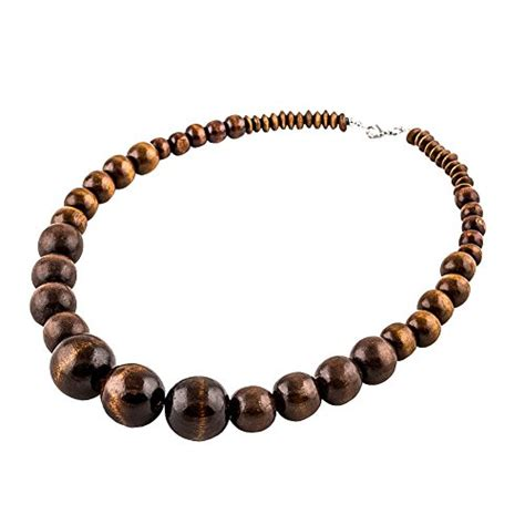 wooden bead necklace designs wood bead necklace evbea africa wooden chain statement