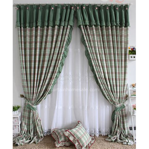 small basement window curtains small basement window curtains in green plaid style