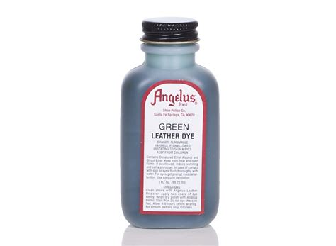 angelus paint green angelus dyes paint green 3oz leather dye leather