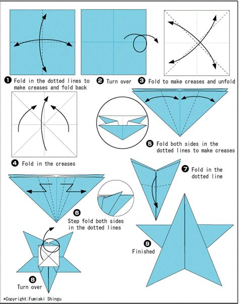 For Origami Starfish Easy Crafts Ideas To Make