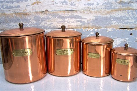 copper canister set kitchen copper canisters kitchen 28 images vintage copper