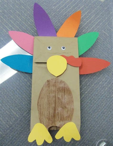 paper bag turkey crafts pin by danielle baker on fall harvest
